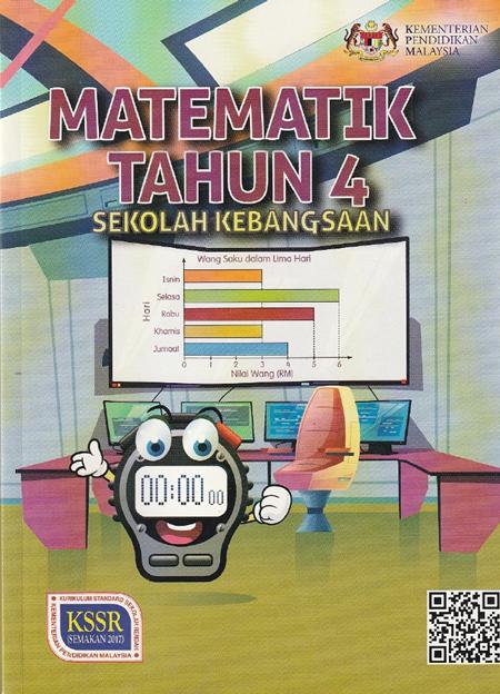 Buku Teks Matematik Tahun 4 Kssr Semakan 2017 Gurubesar My