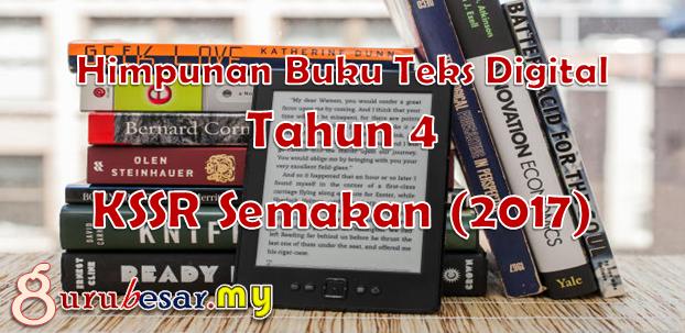 Buku Teks Digital Tahun 4 KSSR Semakan (2017)