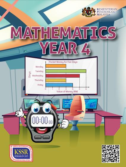 Buku Teks Mathematics Year 4 DLP KSSR Semakan (2017)