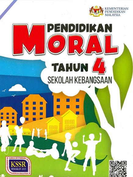 Buku Teks Pendidikan Moral Tahun 4 KSSR Semakan (2017)