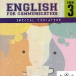 Buku Teks Digital English For Communication Special Education Form 3