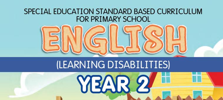 Buku Teks Digital English (Learning Disabilities) Year 2