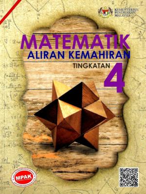 Buku Teks Digital Matematik Aliran Kemahiran Tingkatan 4 Gurubesar My
