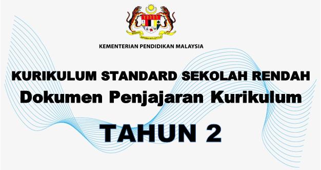 Dokumen Penjajaran Kurikulum 2.0 (DPK 2.0) KSSR Tahun 2