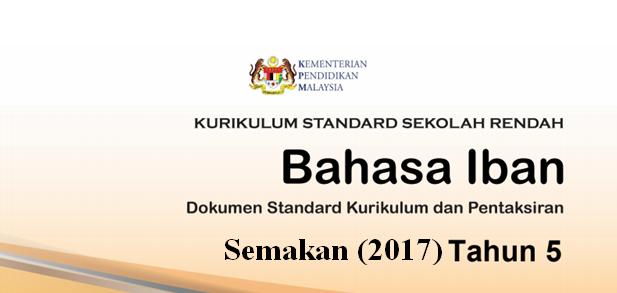 DSKP KSSR (Semakan 2017) Bahasa Iban Tahun 5