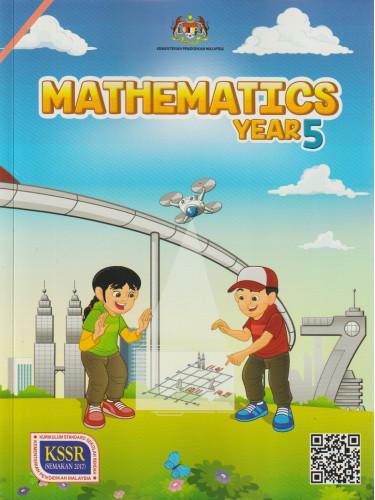 Buku Teks Mathematics Year 5 DLP KSSR (Semakan 2017)