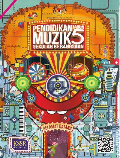 Buku Teks Pendidikan Muzik Tahun 5 SK KSSR (Semakan 2017)